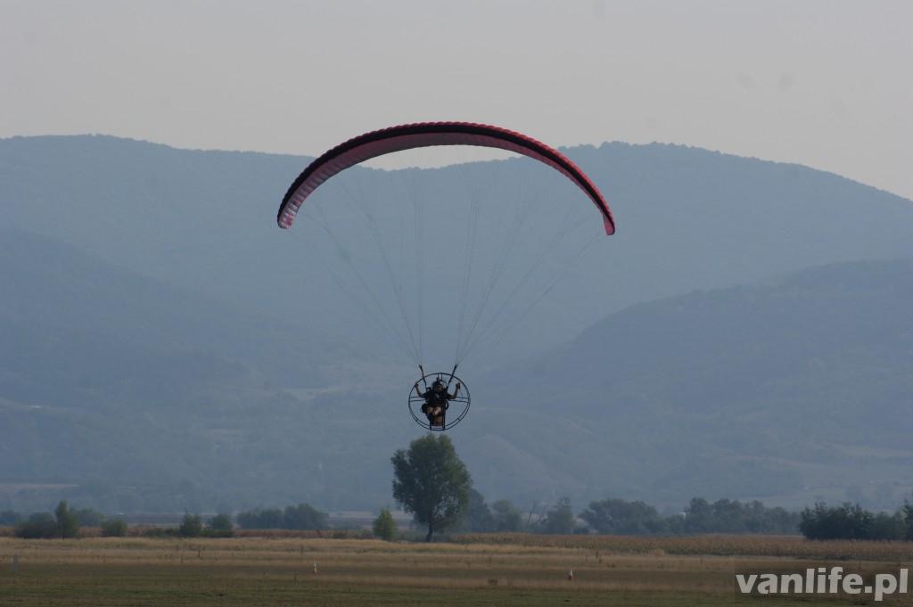 Latanie nad Rumunią