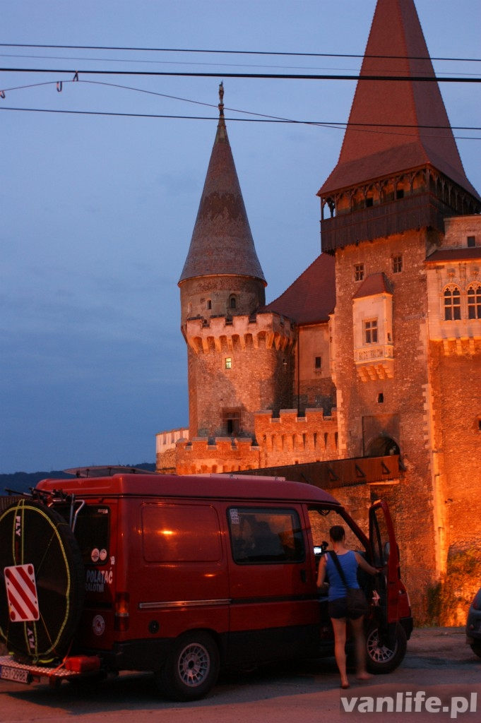 Corvin Castle and Our VAN